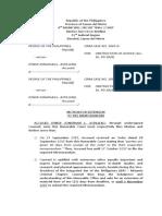 10 26 2017 Motion for Extension Memorandum Astillero