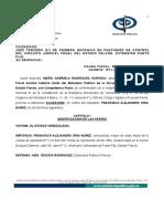 Acusacion Detentacion de Pieza Provenientes Del Hurto o Robo de Vehiculo Mp-301881-2013