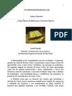 Artigos Esp°ritas - A ImportÉncia da B°blia para a Doutrina Esp°rita.pdf
