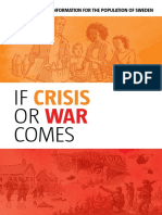 If Crisis or War Comes Prepping Pamphlet