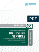 Consolidate Guidelines Hiv Testing July 2015