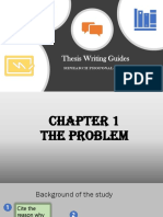 Thesis Writing Guides