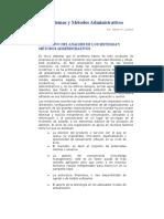 Sistemas y Métodos Administrativos