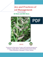 Principles and Practices of Weed Management - 3rd Edition