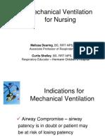 Mechanical Ventilation for Nursing (1)