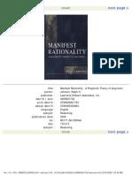 Johnson, Ralph H -- Manifest Rationality_ A Pragmatic Theory of Argument.pdf