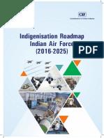Indigenisation Roadmap Indian Air Force 13 Apr 2016