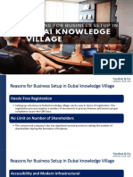 Reasons for Business Setup in Dubai Knowledge Village