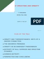 2007 - Entropía del Espacio-Tiempo y Gravedad.pdf
