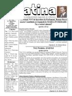 Datina - 18.09.2019 - prima pagină