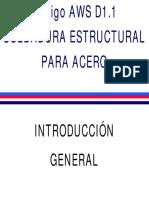 SOLDADURA PARA ESTRUCTURAS DE ACERO