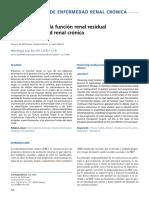 Preservacion de l FRR en ERC