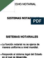 sistema notarial