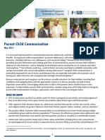Parent Child Communication