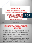 Chapter 7 -- Fixed Assets and Depreciation Accounting