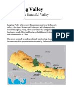 Langtang Valley — All Required Information (Updated)