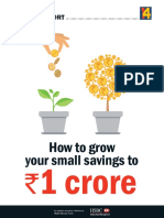 Grow Your Small Savings to 1 Crore