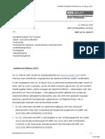 Gebührenrichtlinien 2019