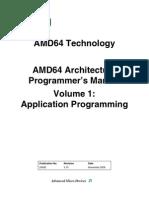 AMD64 Architecture 1