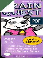 Brain Quest Ages 4-5