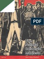 The National Bolshevist Manifesto