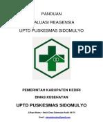 Panduan Evaluasi Regensi 2019