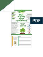 Calendario Delle Semine BioDinamico 2019