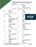 Class Xth Bilogy Practise Paper 2019 How Animal Reproduce