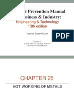 Apm Et13e Chapter 25 Hot Working of Metals