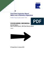 Metal Loss & Geometry Inspections