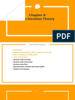 The Decision Theory