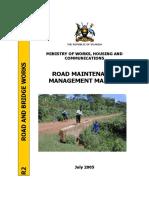 Road Maintenance Management Manual