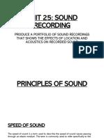 sound recording unit 25 lab  1   1
