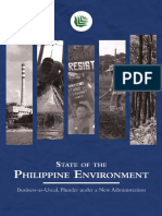 State of the Philippine Environment 2018