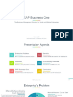 SAP Business One [Product Knowledge] 20.02.19