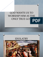 GOD WANTS US TO WORSHIP HIM AS THE.pptx