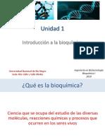 Unidad 1_Introducción a La Bioquímica