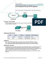 7.2.4.3 Lab - Using Wireshark to Examine FTP and TFTP Captures.pdf