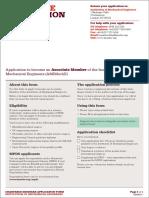 Associate Application Form