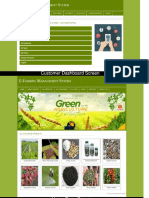 PHP and MySQL Project on E-Farming Management System Screens