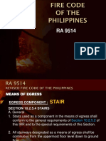 Ra9514 Means of Egress Stair