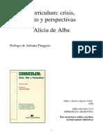 Curriculum - Alicia de Alba
