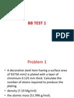 BB TEST 1