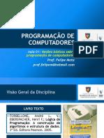 Aula 01 - Programação