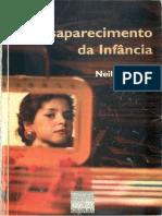o desaparecimento da infancia