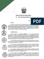 Tarifario SALUDPOL 2019