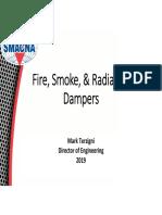 Smacna Fire Damper