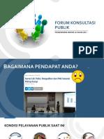 3. Forum Konsultasi Publik