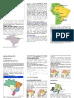 Brasil- Apostila Aspectos Naturais,Humanos e Quadro Economico e Político Atual 2019