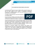 AFIP amplía el alcance del plan de pagos a 120 cuotas